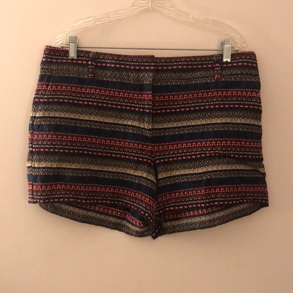 LOFT Pants - LOFT Patterned Shorts